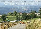Auf dem Camino Primitivo (Tischkalender 2022 DIN A5 quer): Pilgern nach Santiago de Compostela (Monatskalender, 14 Seiten )