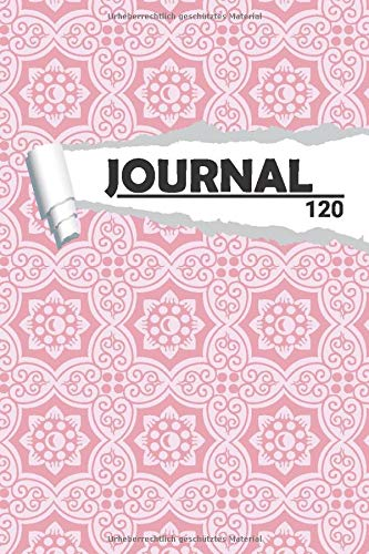 Journal Floral Mandala Muster: Notizbuch I DIN A5 I 120 Seiten I Dot Grip I Organizer I Tagebuch I Skizzen I Handletter (Abstrakte Muster, Band 1)