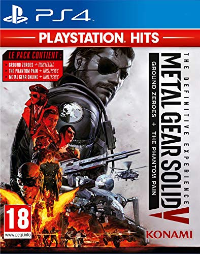 MGS The Definitive Experience Playstation Hits FR
