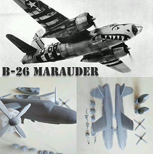 B-26 Marauder WW2 Kit Bouwpakket 1:87 3D-druk