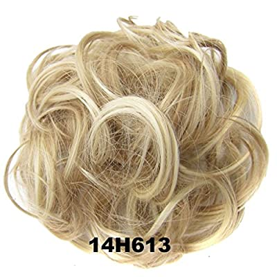 Haarverlängerungen Dutt Perücke Haarteil