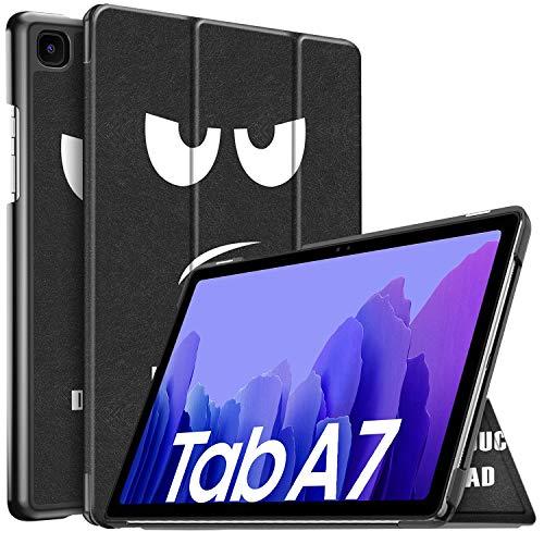 IVSO Hulle Kompatibel mit Samsung Galaxy Tab A7 104 2020 Schlank Slim Hulle Schutzhulle Hochwertiges PU mit Standfunktion Samsung Galaxy Tab A7 T505T500T507 104 Zoll 2020 CH 03