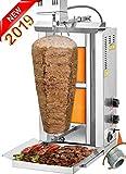 TurcoBazaar 110 V 220 V Automatic Kebab Machine Doner Machine Doner Kebab Grill Machine 2 Stove Propane