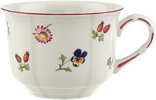 Villeroy & Boch Petite Fleur Cup, 350 ml, Height: 7.5 cm, Premium Porcelain, Multicolour, 1 Count (Pack of 1)