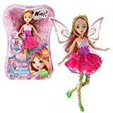 Winx Club Flora | Muñeca Magical Enchantix Spinning Transformación Mágica...