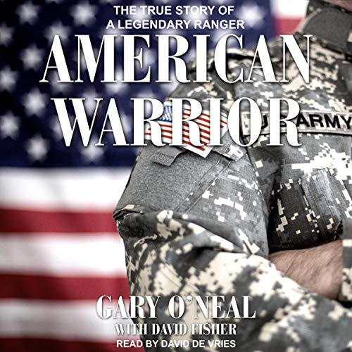 American Warrior audiobook cover art