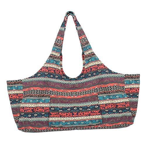 MagiDeal Sac de Tapis de Yoga Sac de Transport Bandoulière Gym Bag pour Yoga