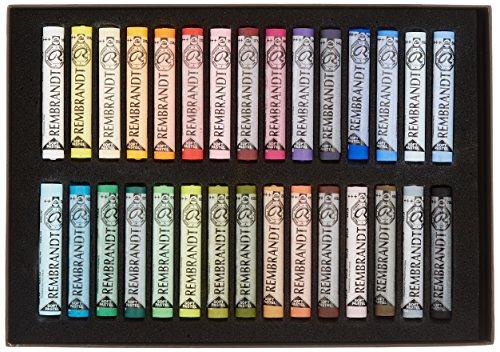 ターレンス レンブラント ソフトパステル 30色セット 風景画用