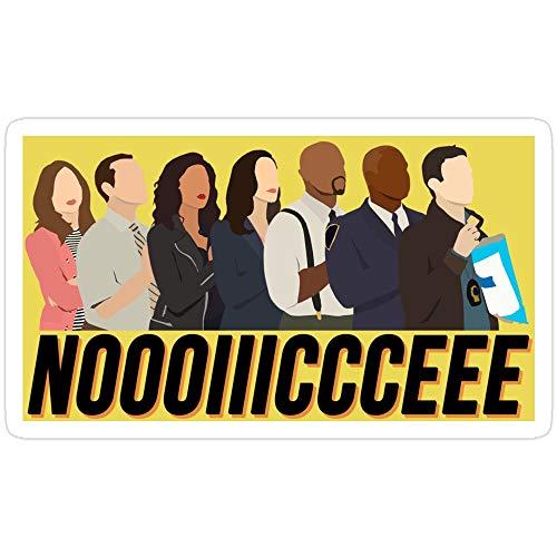 Deangelo Brooklyn Nine-Nine Noice Sticker, 3 Stück