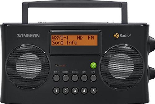 Sangean HDR-16 HD Radio/FM-Stereo/AM Portable Radio (Renewed)