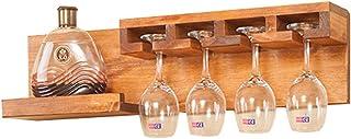 Stockage Casier à vin Tenture murale salon bois journal rack restaurant moderne créatif gobelet Brassage et vinification m...