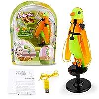 フライングRCおもちゃ子供のための赤外線誘導飛行ヘリコプターベストギフトグリーン