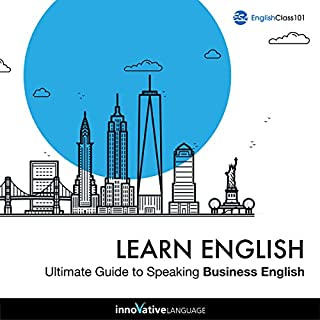 Couverture de Learn English: Ultimate Guide to Speaking Business English