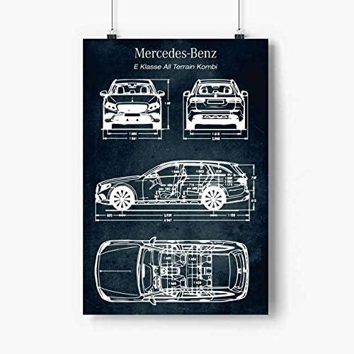 62 Import E Klasse All Terrain Poster prints No Frame Pi Cars 27x40 Ranking TOP2 -