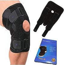 Knee Brace with Side Stabilizers & Unique Patella Pad | Knee Braces for Knee Pain Plus Size, Knee Braces for Knee Pain Women & Men, Knee Brace for Running Knee Support, Plus Size Knee Brace for Women