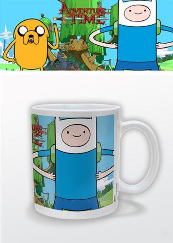 Adventure Time MG22141 - Taza de cerámica, diseño de Jake y Finn - Taza Hora de Aventuras