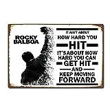 Forry Rocky Balboa Moive Metall Poster Retro Blechschilder
