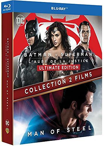 Collection 2 films: Batman v Superman : L'aube de la justice + Man of Steel [Francia] [Blu-ray]