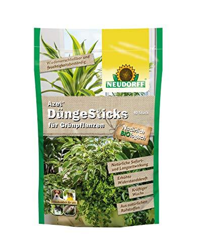 Neudorff 00278 Azet Sticks pour Plantes Vertes – 40 pièces