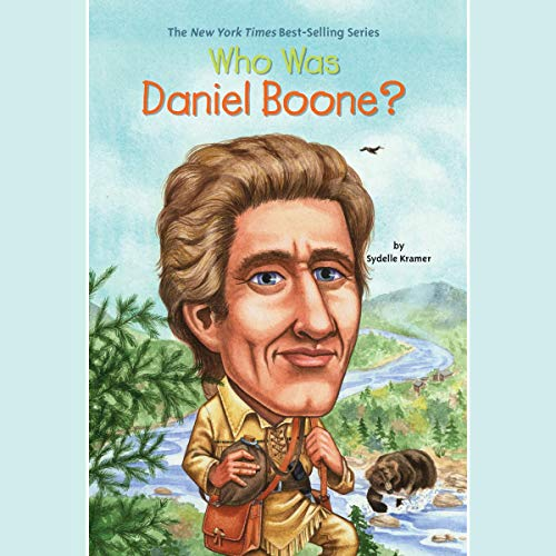 Who Was Daniel Boone? audiobook cover art