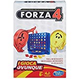 Hasbro Gaming - Forza 4 Travel, Gioco in Scatola, B1000103 [Versione in Italiano]