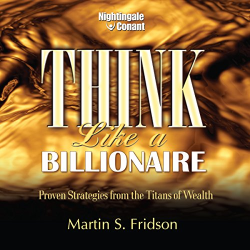Think Like a Billionaire audiobook cover art