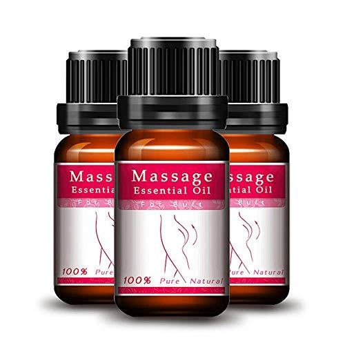 Aceite esencial, levantamiento de cadera para agrandamiento de glúteos Celulitis Aceite de masaje para levantamiento de cadera natural Aumento de glúteos Aceite esencial para el cuidado de la piel