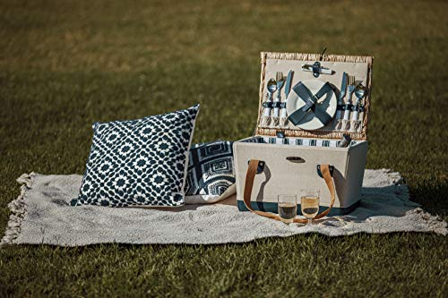 Boardwalk Picnic Basket with Service for Two