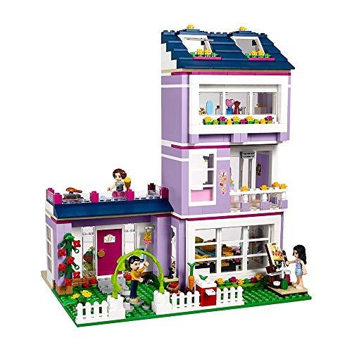 aolongwl Bloques de construcción Compatible con 41095 Friends Bloques De Construcción De La Casa De Emma Emma MIA Figura Juguetes Educativos para Niños Y Niñas