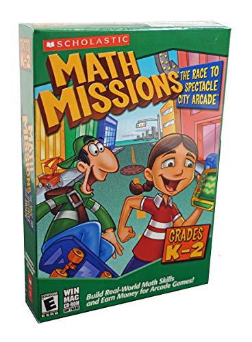 Math Missions: The Race to Spectacle City Arcade (Grades K-2) Age Rating:5 - 8