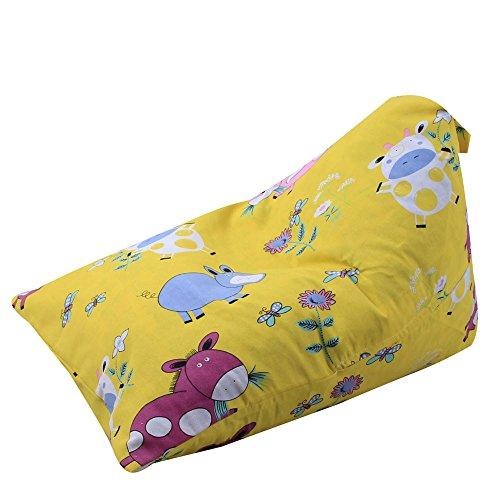 Hohe Qualität weichen mehrfarbigen Kinder Plüsch Tier Plüsch Spielzeug Speicher Sitzsack weiche Tasche gestreiften Stoff Stuhl