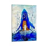 ZAINALI Filmposter Life of Pi Poster, dekoratives Gemälde,