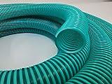 Hero Spiralschlauch Saugschlauch Druckschlauch Förderschlauch 25 mm Grün