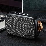 FGHHJ - Mini altavoz Bluetooth inalámbrico portátil con sonido estéreo de graves densos, radio FM, tarjeta TF, altavoz Bluetooth 4.2, batería USB
