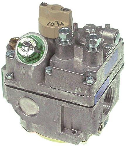"""Falcon Vanne à gaz 7000BGOR pour friteuse G1860, G1860-CE entrée gaz 3/4"""" sortie gaz 3/4"""" raccord thermocouple ASA 11/32"""" gaz"""