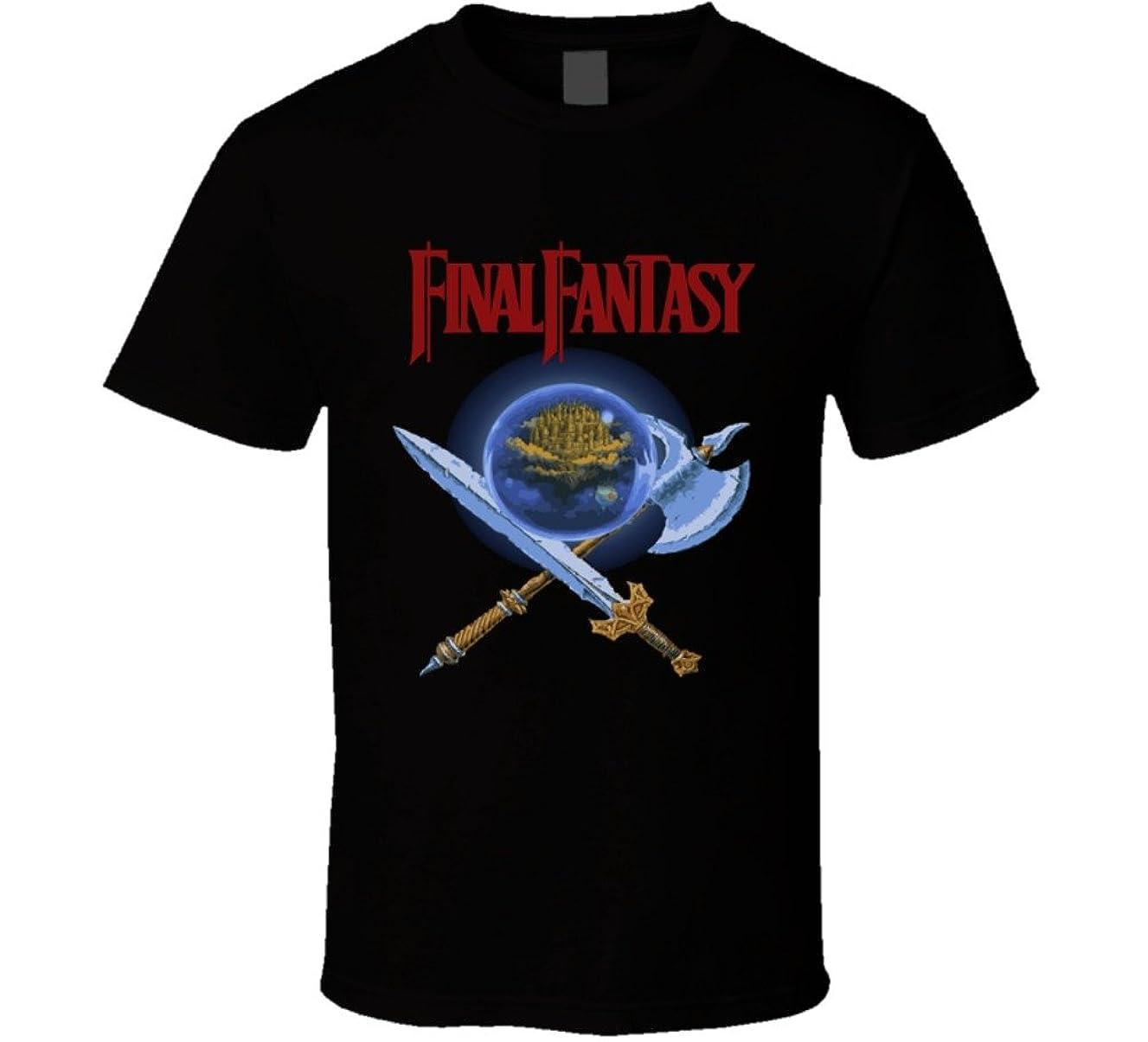 Final Fantasy NES Box Art Retro Video Game T Shirt