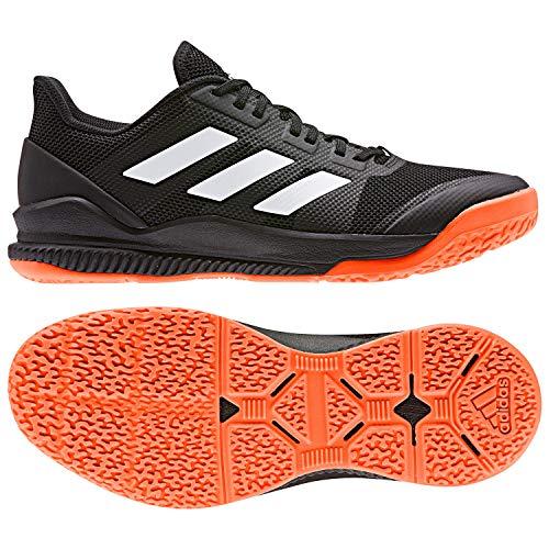 adidas Herren Stabil Bounce Handballschuhe, Schwarz (Negbás/Ftwbla/Narsol 000), 48 EU