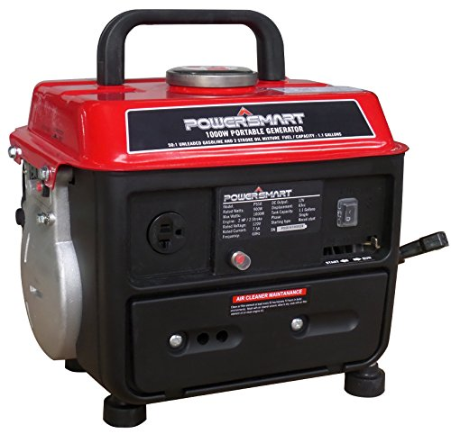 PowerSmart PS50 Portable Generator, Red/Black