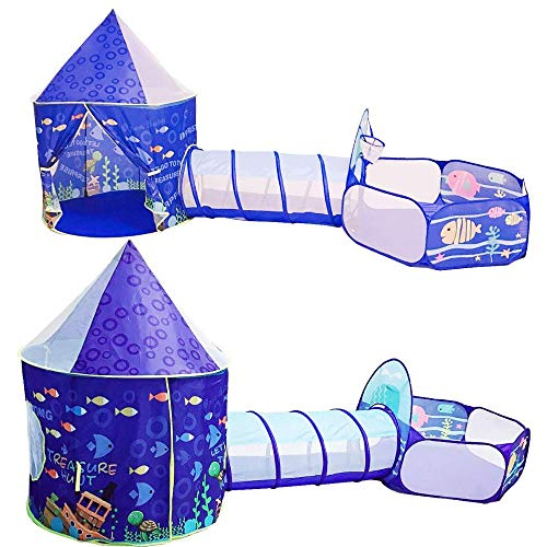 miaomiao tentToy Tent Children Tents Kids Crawling Tunnel Play Tent House Ball Pit Pool Tent for Children Toy Ball Pool Ocean Ball Holder Set