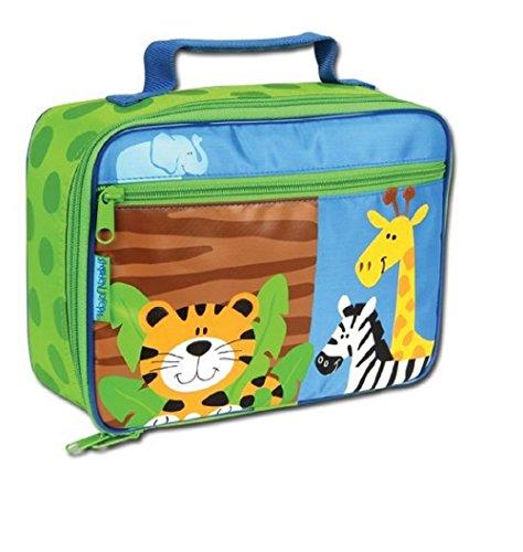 Sac pour enfant Safari avec motif girafe et zèbre tigre isolé Idéal pour le temps de pain pain Temps Sac isotherme