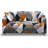 HOTNIU Funda Elástica de Sofá Funda Estampada para sofá Antideslizante Protector Cubierta de Muebles (Dos Plazas, Modelo_MF)