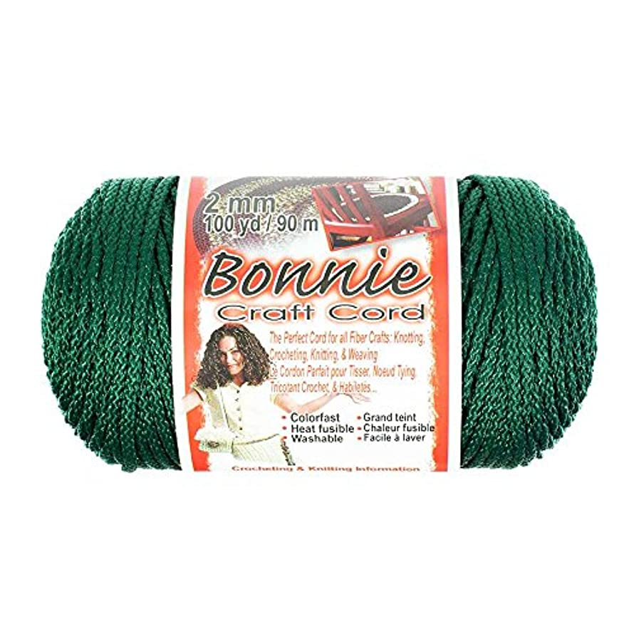 2mm Bonnie Crafting Cord - Great for Macramé, Knitting, and Weaving Crafts - 100 Yard Spools