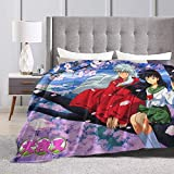 Seugzur Anime Fleece Plush Blanket Air Conditioning Blanket Plush Fuzzy Lightweight Super Soft Luxury Fluffy for Bed/Sofa/Camping 60'x50'