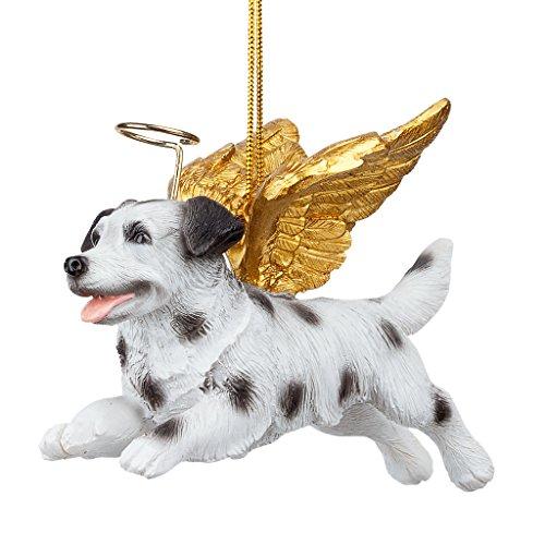 Christmas Tree Ornaments - Honor The Pooch Dalmatian Holiday Angel Dog Ornaments