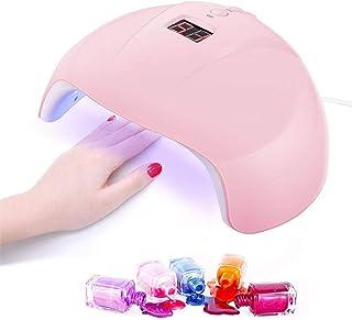Barato 36W Lampara Secador de Uñas,Normales Aire UV Lampara,3 modos: 30/60 / 90S,Para Esmalte niña semipermanente Gel uñas,Fuente de luz inofensiva con detección automática,Con USB