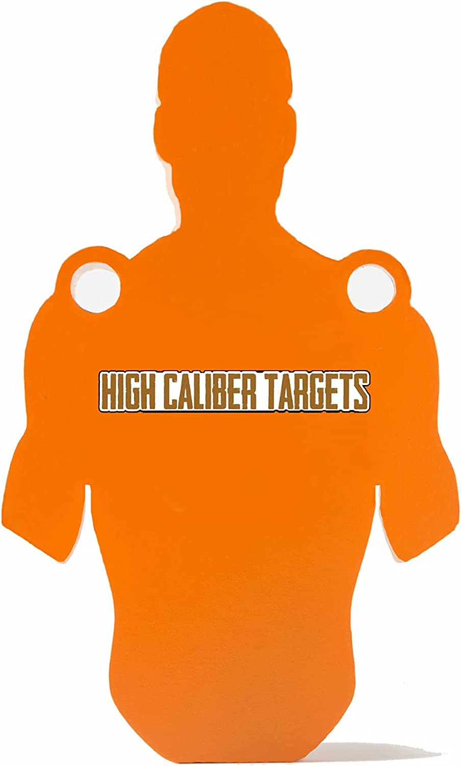 High Caliber AR500 Steel Shooting - Gong Shilouettes Targets I Max 77% OFF 4 years warranty