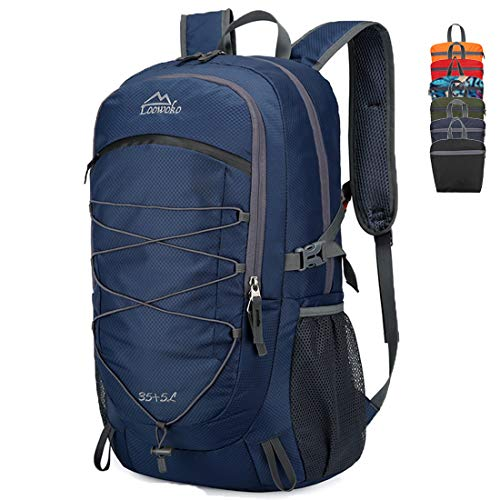 Loowoko 40L Lightweight Packable Camping Hiking Backpack Travel Daypack