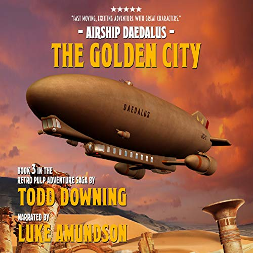 The Golden City Audiobook By Todd Downing cover art