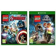 Lego Marvel Avengers (Xbox One) & Lego Jurassic World (Xbox One)
