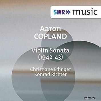 Copland: Violin Sonata